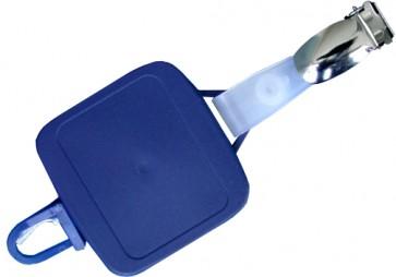 """Jojo-Halter mit Bandclip """"M"""" zum Halten einer Ausweisschutzhülle oder Ausweistragehülle"""