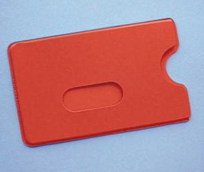 Ausweis-Schutzhülle CC, rot (400 Stück)