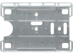 Hoch-/Querformat Kartenhalter mit Langloch, antistatisch