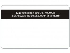 Magnetstreifenkarte 4000 Oe