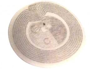 RFID Smartlabel rund 58 mm