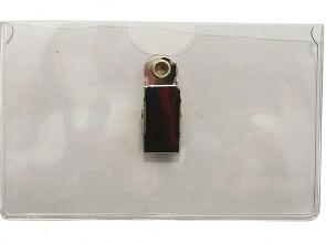 PVC Tragehüllen im Hochformat  für Ausweise, transparent