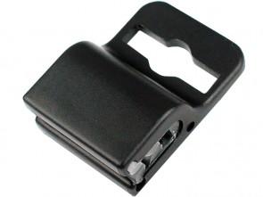 Gripper Kartenhalter mit Silikoneinsatz schwarz