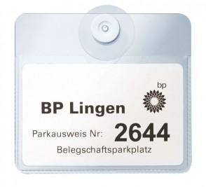 Parkausweis mit Saugnapf, Querformat (29 Stück)