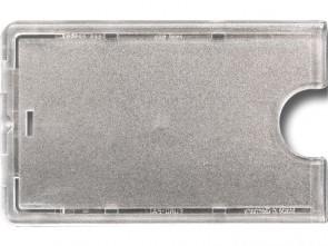 Schutzhülle transparent Hartplastik mit Griffmulde