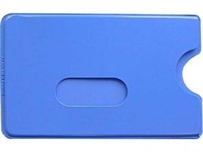 Schutzhülle für Ausweise weich blau