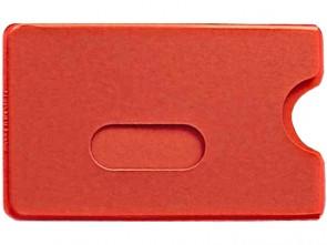 Schutzhülle für Ausweise weich rot