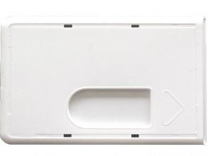 Schutzhülle für RFID-Ausweise weiß